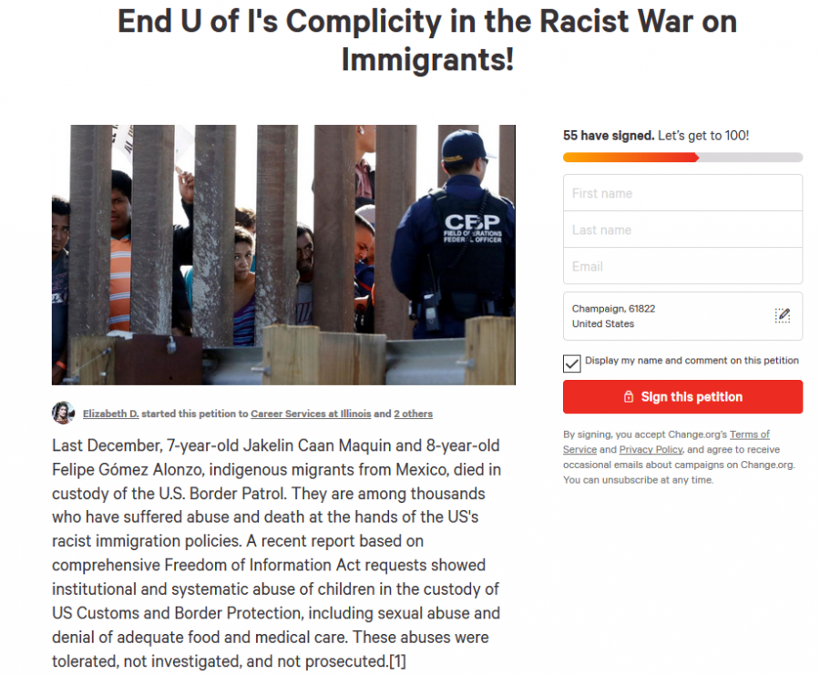 A+screenshot+of+GEO%E2%80%99s+petition+against+ICE+on+change.org.