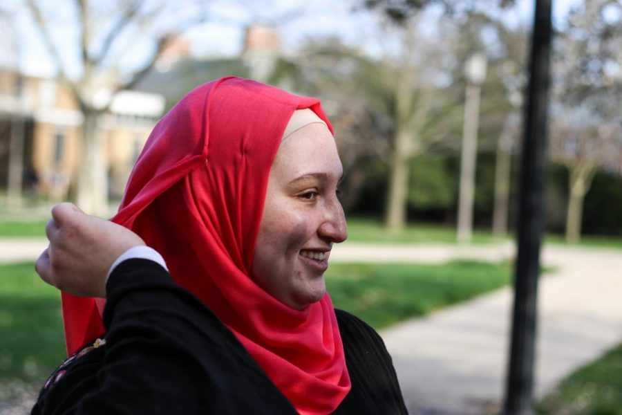 Najwa Swel is a Parkland Pathway student. Parkland Pathway is a program that allows students who have been accepted into the University to take their first four semesters of classes at Parkland Community College while still being enrolled as a student at the University.
