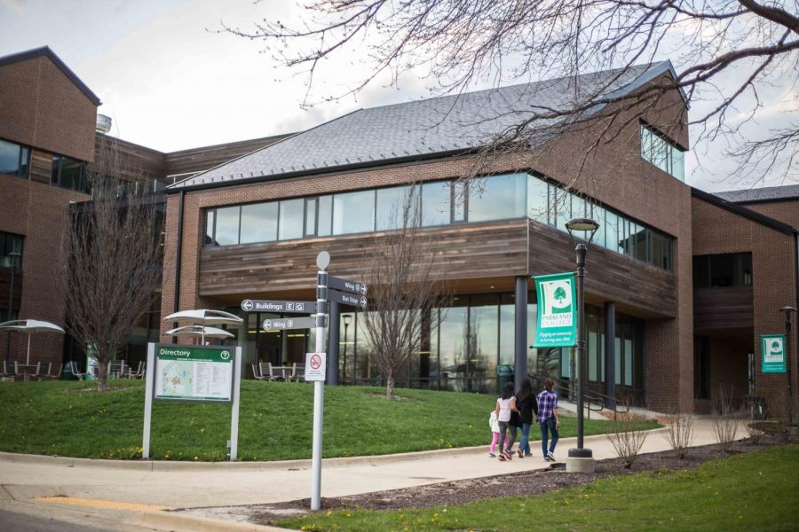 Parkland Community College is located at 2400 West Bradley Ave. The college announced a potential hybrid plan Tuesday for its fall semester that would have students attend classes partially online and partially on-campus.