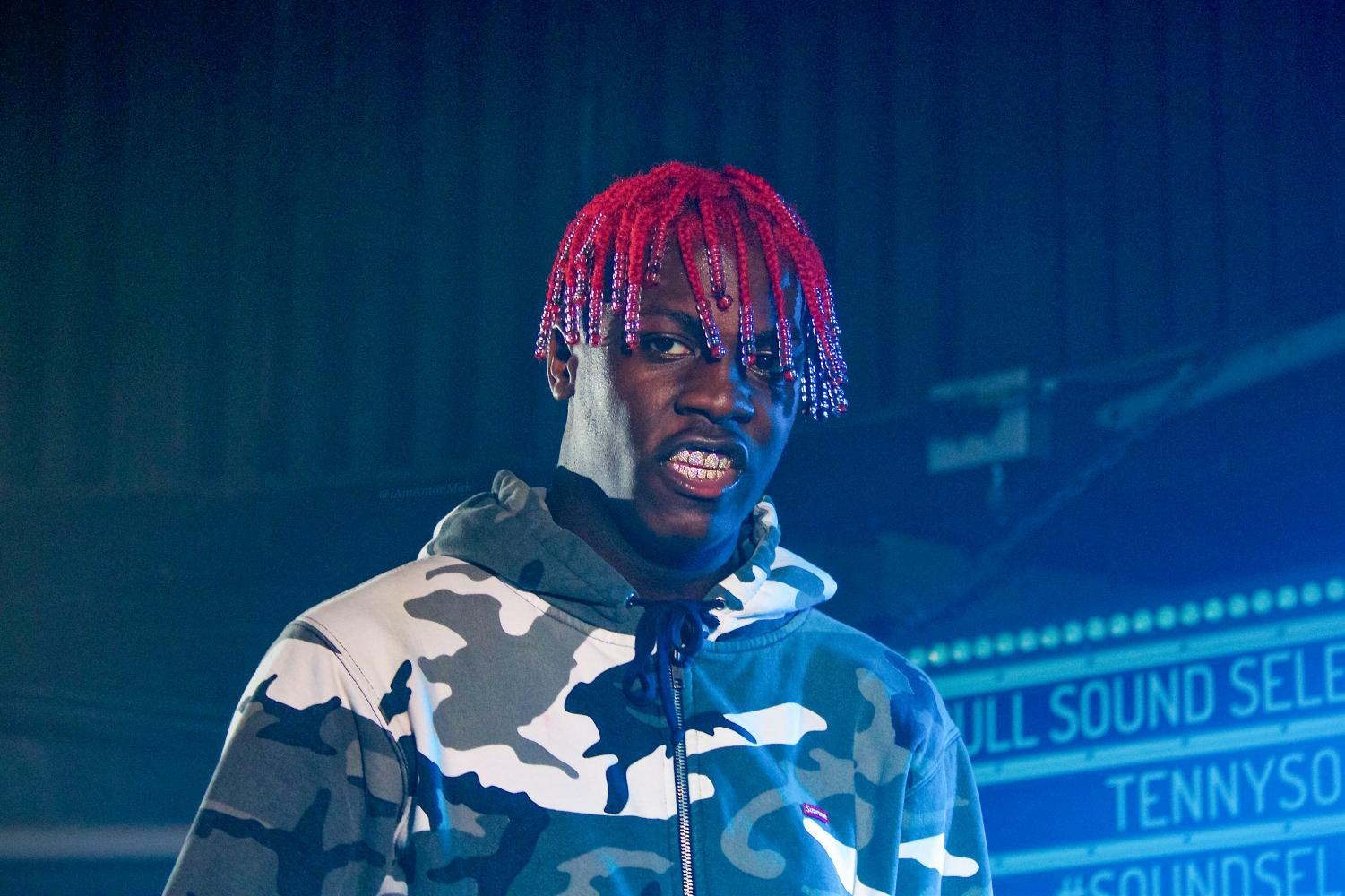 Rapper Lil Yachty poses for a photo in August 2016. Spring Jam will be Sunday on the Main Quad at 2 p.m.