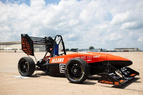 Illini Formula Electric team gives students a head start, hands-on