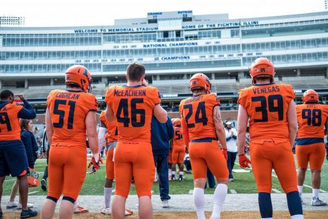 Lovie era begins with Spring Ball