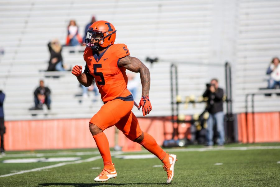 Starting Tackle Football Early Sets >> Illinois Looks Forward To Fall The Daily Illini