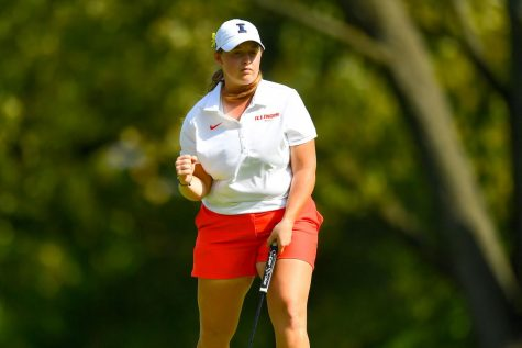 Illinois women's golf posts third place finish