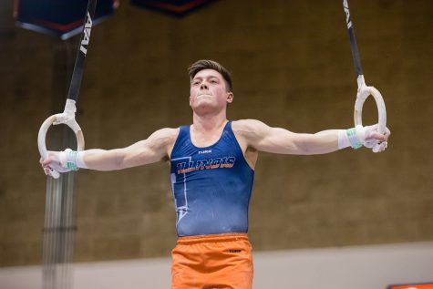 Illinois cruises to victory in Big Ten meet