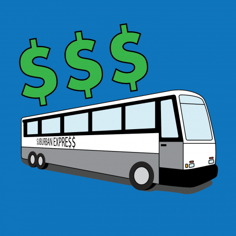Suburban Express issues relate to tuition rates