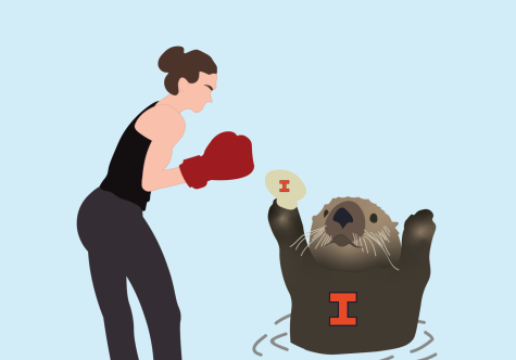 This otter be good: Moms versus otters