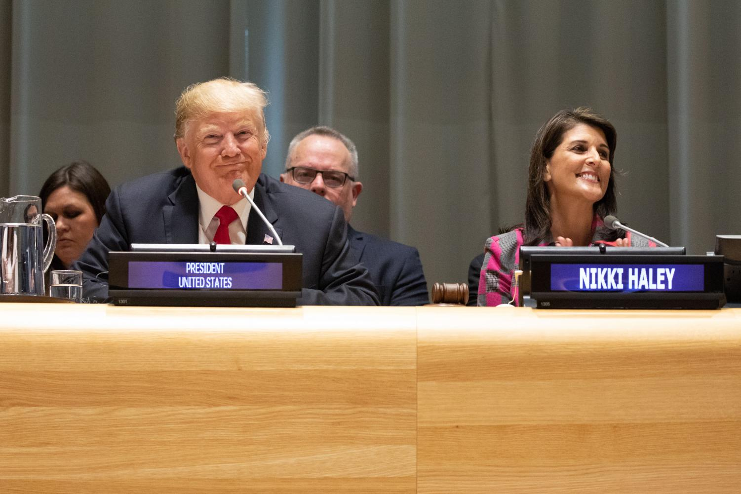 President Donald J. Trump participates in the Global Call to Action on the World Drug Problem. It took place Sept. 24 at the United Nations Headquarters in New York City.
