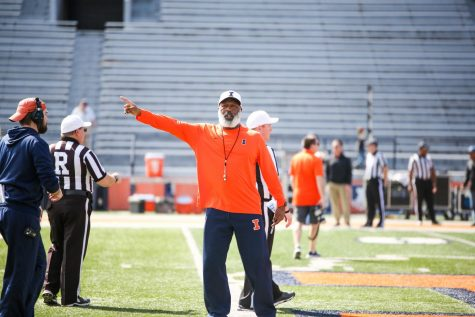 Illinois football's Smith and Chance The Rapper have unlikely bond