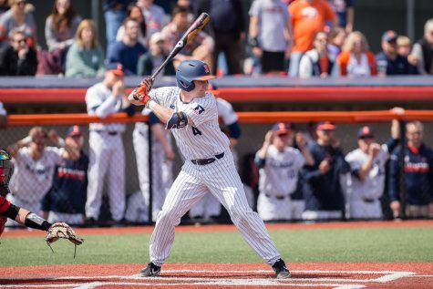 Home of the Braves: Illinois falls to Bradley, 8-12