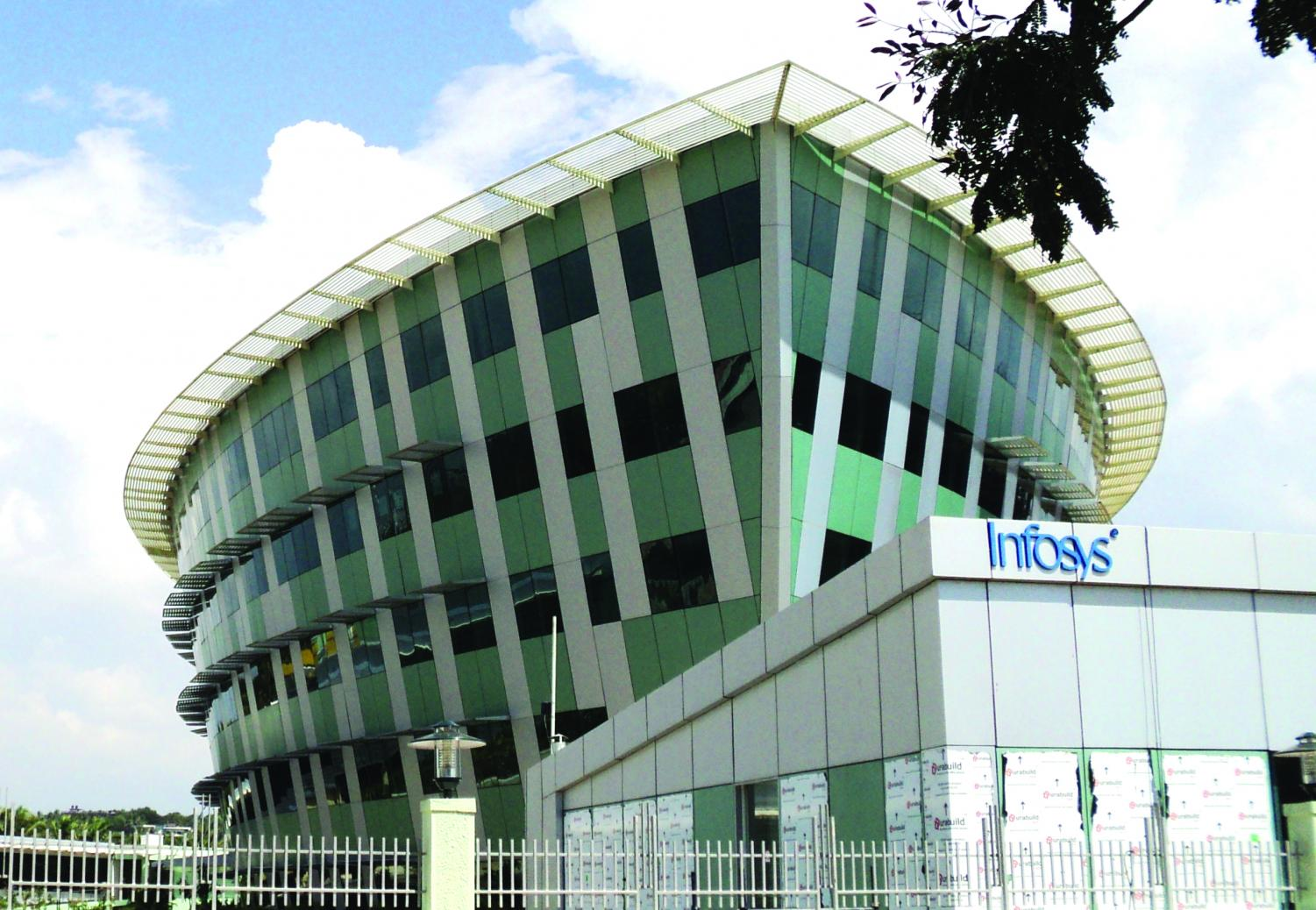 This building is home to the Infosys office in Thiruvanathapuram, India. Infosys is partnering with the University to provide expertise in artificial intelligence.