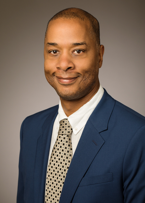 Dr. Sean Garrick is the University's first chief diversity officer, serving as the first Vice Chancellor for Diversity, Equity & Inclusion. The position was established after an external review of University diversity was completed in 2017.