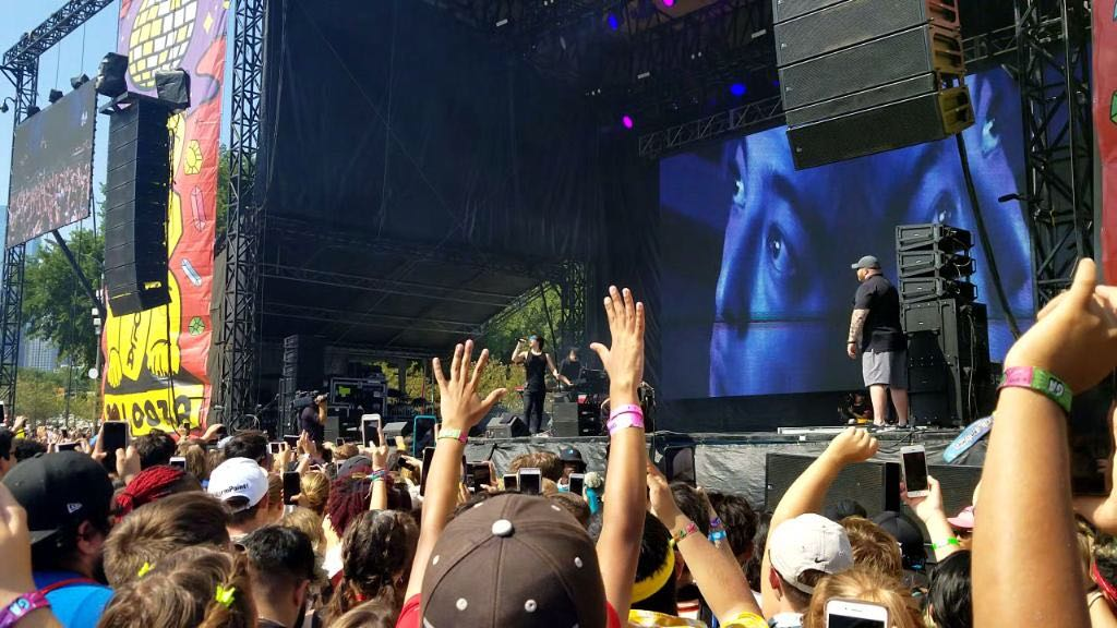 "Joji performs during Lollapalooza on Aug. 4. A former internet personality, the 26-year-old recently reached platinum for his hit single, ""SLOW DANCING IN THE DARK."