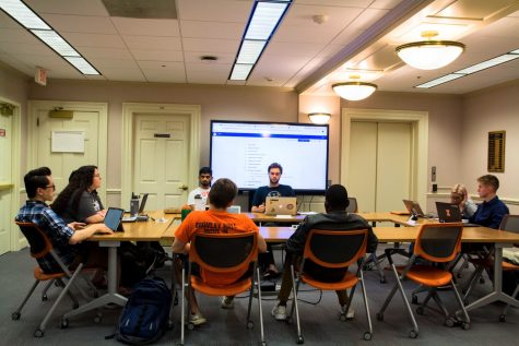 Student government shines spotlight on campus concerns