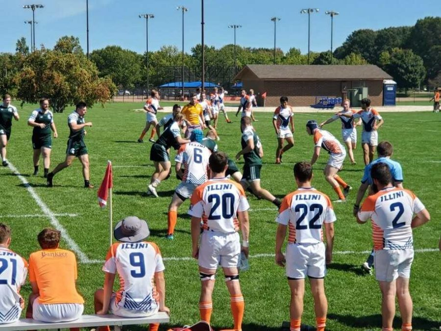 The Illinois Rugby team faces off against Michigan State on Saturday.