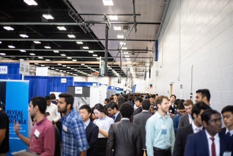 Career fair season reminds students of gender gaps