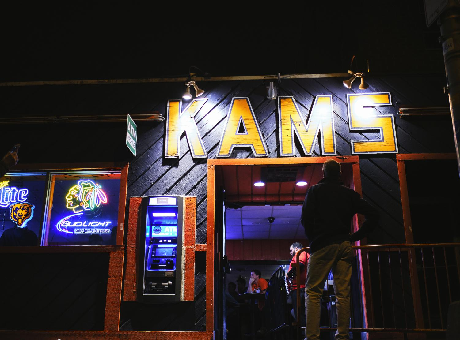 KAM's, beloved Campustown bar, is pictured in its final weekend on Saturday.