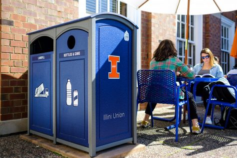 Glass recycling finds funding on campus