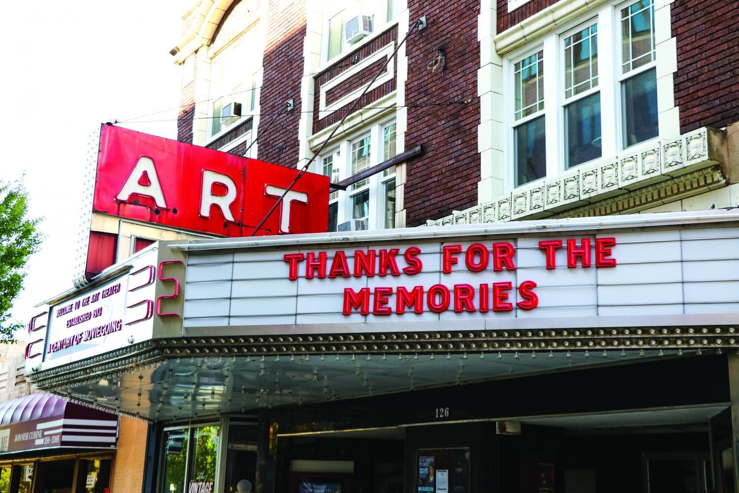 The Art Theater is located in Champaign and officially closed its doors Nov. 1. The Art Film Foundation filed for bankruptcy on Tuesday.