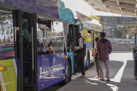 MTD continuing service, providing free bus rides