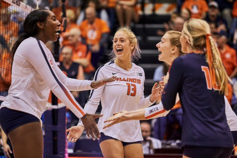 Illinois takes down Indiana for 16th consecutive time in clean sweep