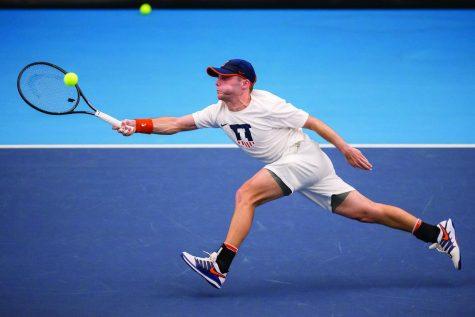 Illinois men's tennis competes in ITA Men's All-American Championships