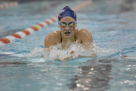 Illinois splits tri-meet, earns 10 wins