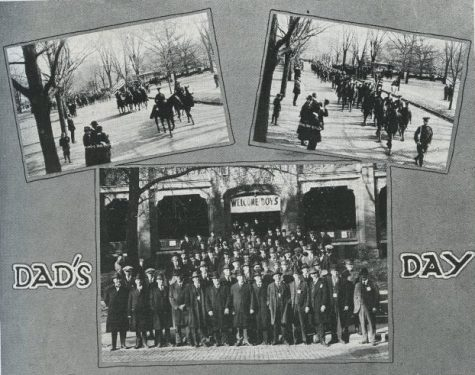 """The first Dads Day celebration is printed in Illio Yearbook in 1922. The University of Illinois Dads Association was founded in 1922 and claims to be one of the first parent programs in the country, with their """"King Dad"""" tradition having been practiced for over thirty years."""