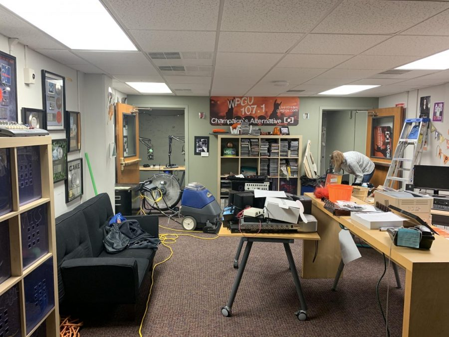 WPGU goes back on air after flooding damage