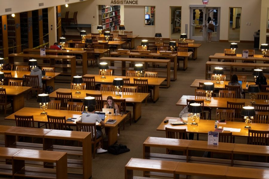 The College of Law Library on Friday Sept. 20.