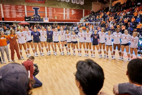 Illini prepare to play three top-10 teams
