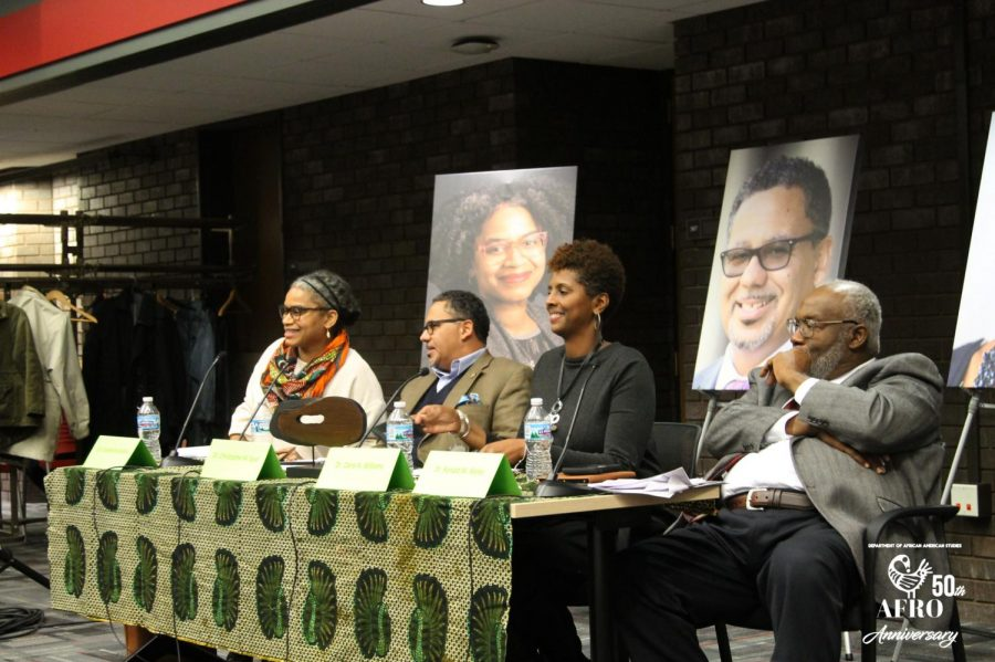 An interdisciplinary faculty forum was hosted by the Department of African American Studies, or AFRO, on Oct. 30 in the Levis Faculty Center. The department celebrated its 50th anniversary by hosting a series of events in October.