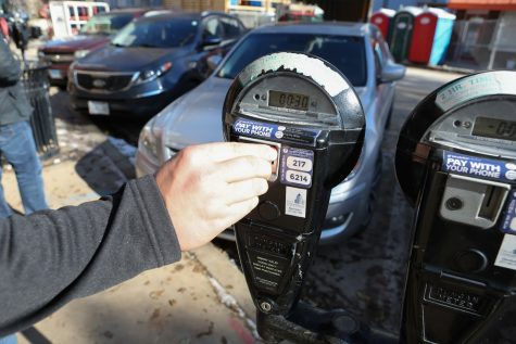 Cities do not wish to profit from parking meters