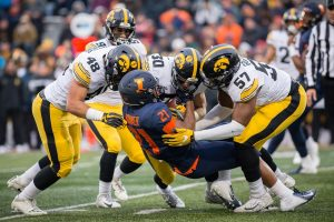 Illini to face Hawkeyes after 63-0 shutout
