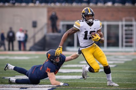 Illini gain speed going into rematch against Hawkeyes