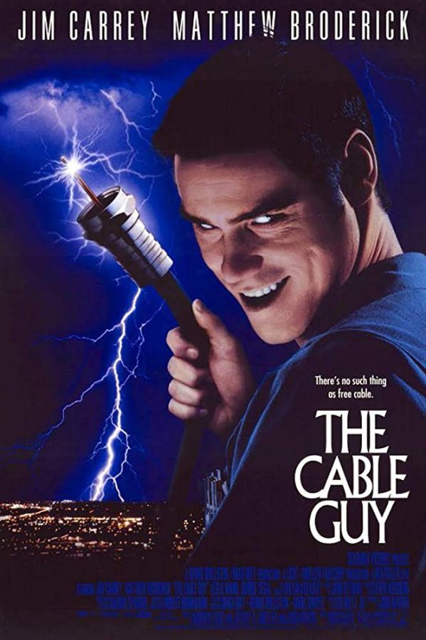 """Jim Carrey poses as Chip, a cable provider, in the 1996 movie, """"The Cable Guy."""" Columnist Dylan discusses how the critique of media in """"The Cable Guy"""" can be applied to modern times, more than 20 years after the movie was created."""