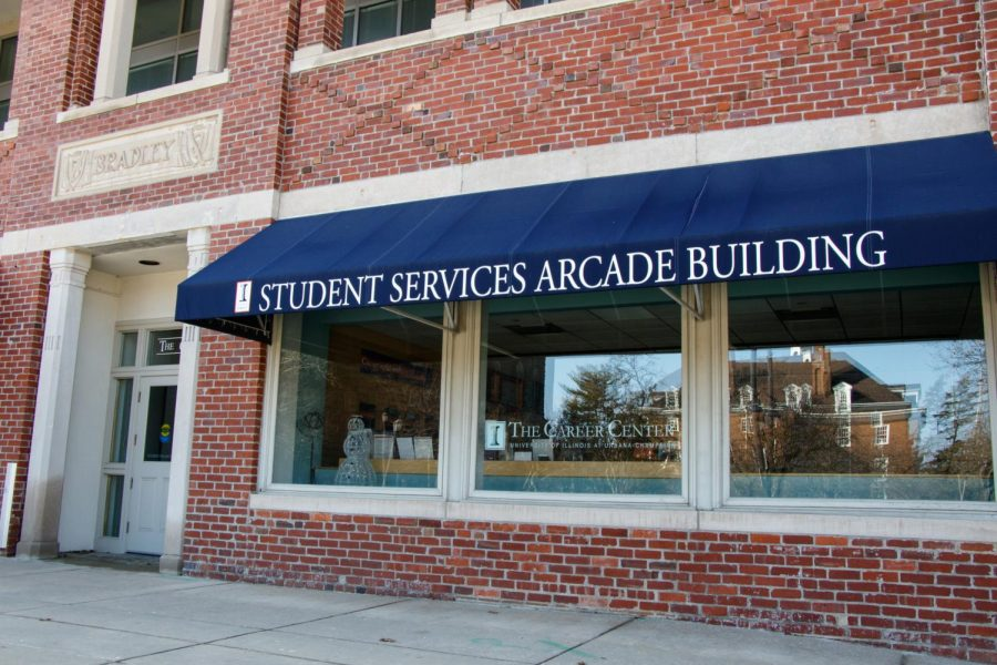 he Career Center is located on 715 S. Wright St. It offers students many resources free of charge.