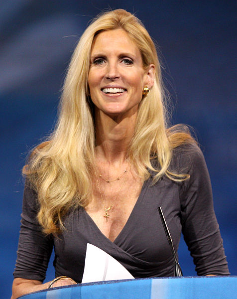 Ann Coulter speaking at the 2013 CPAC in Washington D.C. on March 16, 2013.