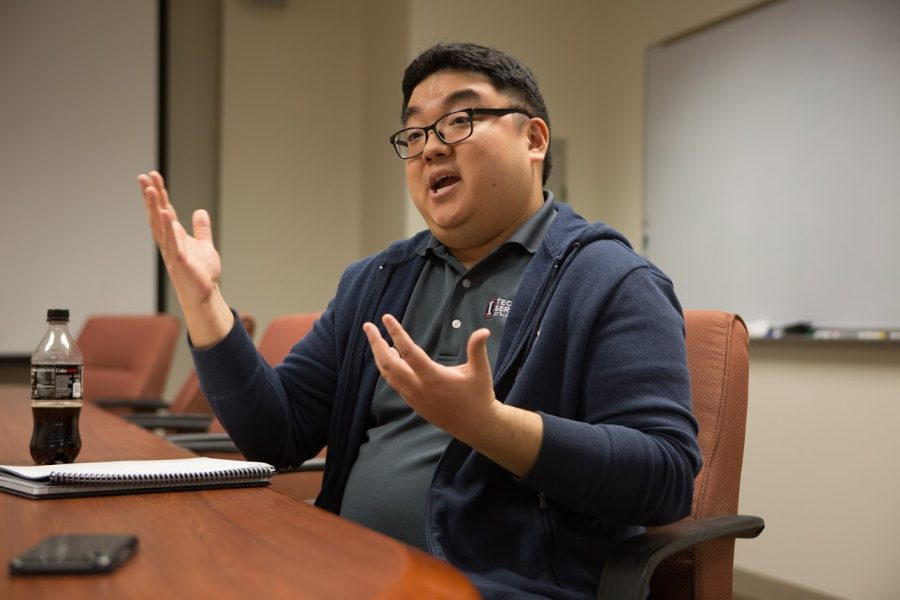 Technology Services Chief Communications Officer Jason Choi explains how he and his colleagues combat scam emails sent to Illinois students on Tuesday.