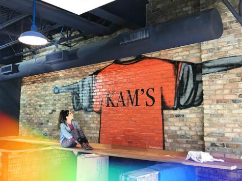 Life imitates art: Classic KAM's mural repainted reflects history, brings familiarity