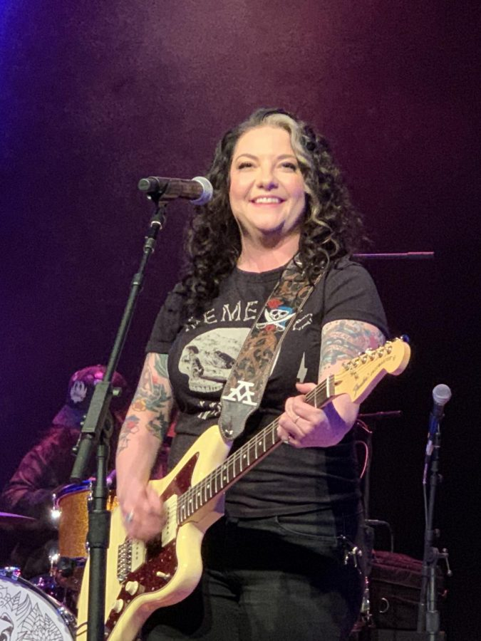 Ashley McBryde performing at the Lyric in Oxford, Mississippi, on January 31, 2020.