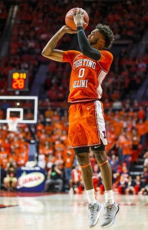 Griffin leads Illinois to road victory at Northwestern
