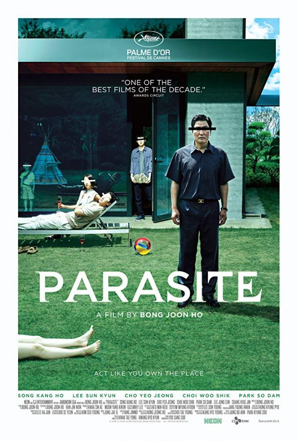The+movie+poster+for+Parasite+%282019%29.+Parasite+won+best+picture+at+the+Oscars.