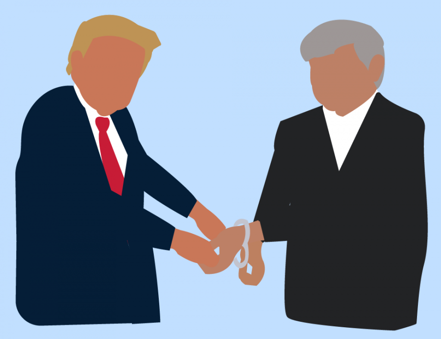 trump and blago