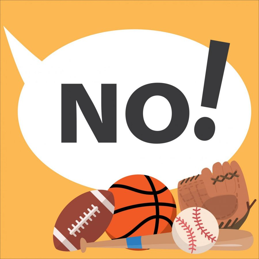 A 'no' we need to listen to: Sports suspended for season