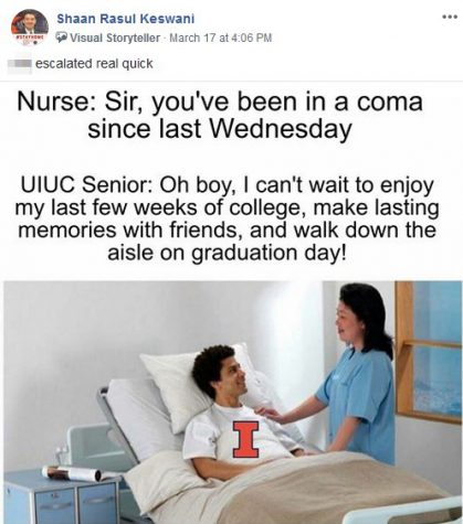 Facebook Meme Page Connects Students Amid Virus The Daily Illini