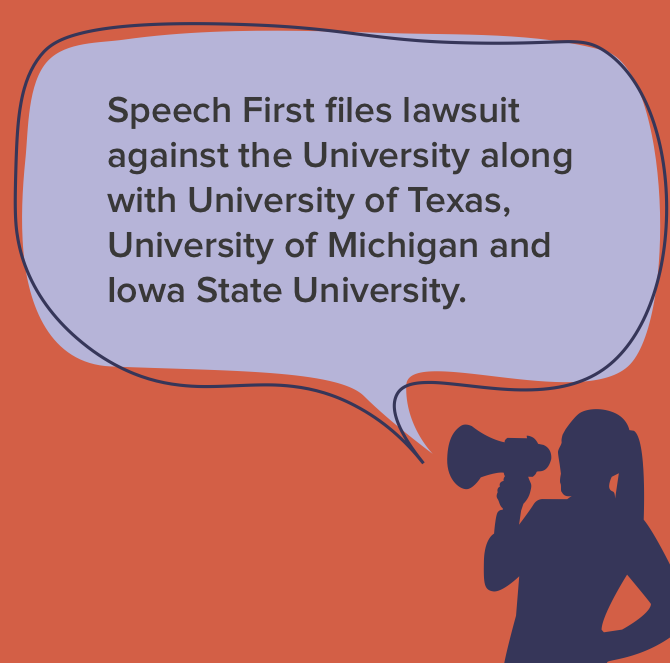 Speech First files lawsuit against University