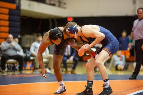 Wrestling finishes 11 in Big Ten