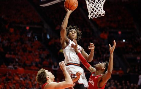 Gallery | Illinois overcomes Indiana by single point