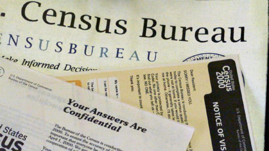 Some of the paper work previously used by census takers.